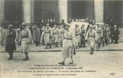 CPA ARMISTICE 1920