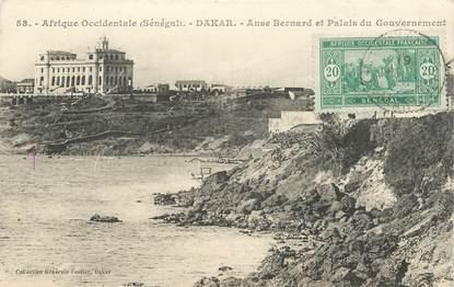 "CPA SENEGAL ""Dakar, Palais du Gouvernement"""