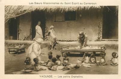 """CPA CAMEROUN """"Yaoundé, Les Petits orphelins, Soeurs missionnaires du Saint Esprit"""""""