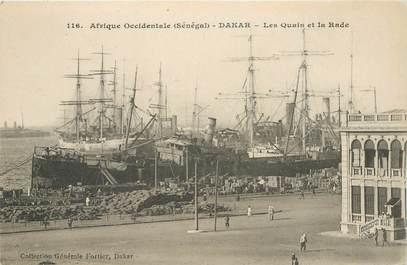 "CPA SENEGAL ""Dakar, les quais et la Rade"""