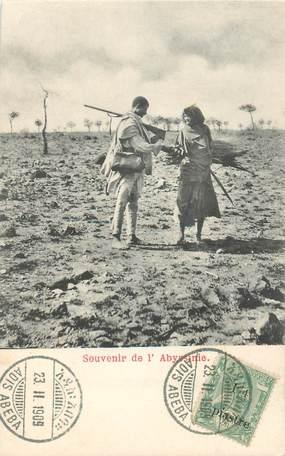 """CPA ETHIOPIE """"Souvenir de l'Abyssinie"""""""
