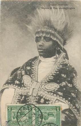 """CPA ETHIOPIE """"Abyssinie, petit fils de l'Empereur"""""""