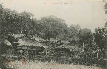 "CPA VIETNAM / INDOCHINE ""Bac Kan, village Tho"""