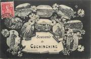 "Asie CPA VIETNAM / INDOCHINE ""Souvenir de Cochinchine"""
