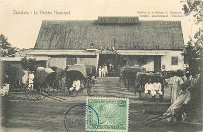 "CPA MADAGASCAR ""Tamatave, Théâtre municipal"""