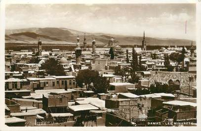 "CPA SYRIE ""Damas, les Minarets"""