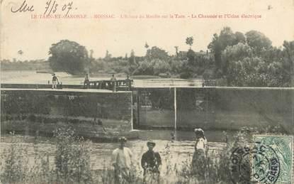 """/ CPA FRANCE 82 """"Moissac, l'écluse du moulin sur le tarn"""""""