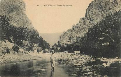 "CPA SYRIE ""Manus, porte siclicienne"""