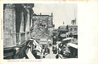 "CPA ISRAEL ""Jerusalem, rue de la Porte de Jaffa"""