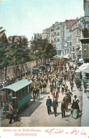 "CPA TURQUIE ""Constantinople"" / Rare Colorisée"