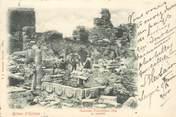 """Europe CPA TURQUIE """"Ruines d'Ephése"""" / PHILATELIE 1900"""