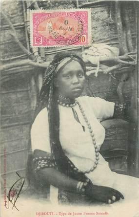 """CPA DJIBOUTI """"Femmes de Somalie"""""""