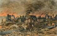 """Grece CPA GRECE SALONIQUE """"Ville haute incendiée"""""""