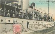 "Europe RARE CPA ROUMANIE ""Constanta, bateau à vapeur Regele Carol"""