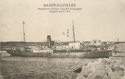 """CPA PAQUEBOT """"Paquebot Poste rapide, Saint Raphaël"""""""