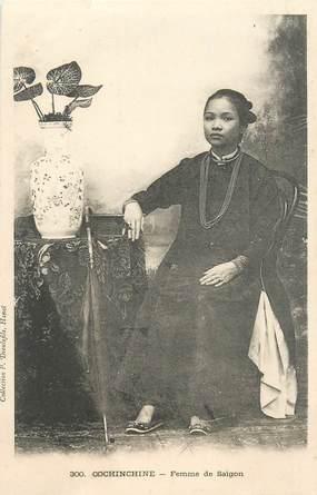 """CPA VIETNAM """"Femme de Saïgon"""""""