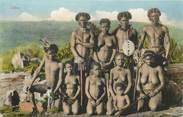 """Afrique CPA AFRIQUE """"Types Zulus"""" / NU"""
