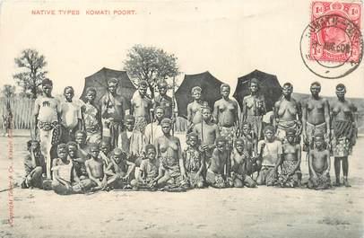 """CPA AFRIQUE """"Types"""" / NU"""