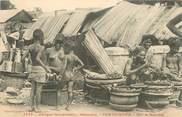 """Afrique CPA AFRIQUE / DAHOMEY """"Sur le marché"""" / NU"""