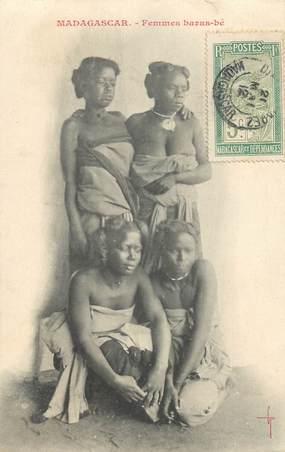 """CPA MADAGASCAR """"Femmes baras bé"""""""