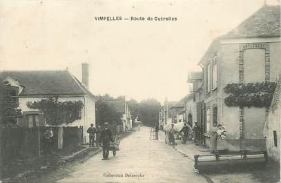 """/ CPA FRANCE 77 """"Vimpelles, route de Cutrelles"""""""