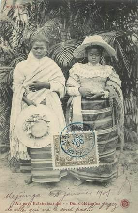 "CPA MADAGASCAR ""Femme Betsimisaraka"""