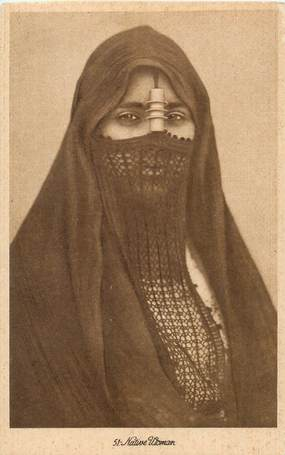"CPA EGYPTE ""Femme"""