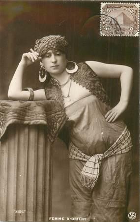 "CPA EGYPTE ""Femme d'Orient"" / REISER"