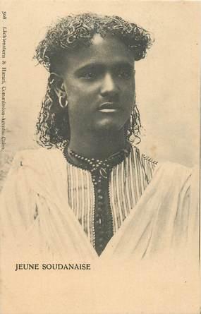 "CPA EGYPTE ""Belle soudanaise"""