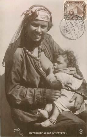"CPA EGYPTE ""Maternité arabe"" / NU / REISER"