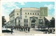 """Etat Uni CPA USA """"Nouvelle Orléans, Jerusalem Temple, Synagogue"""" / JUDAICA"""