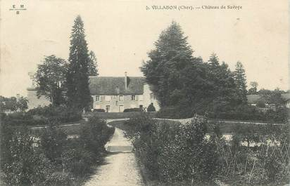 "CPA FRANCE 18 ""Villabon, Chateau de Savoye"""