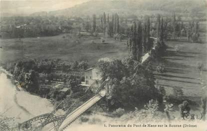 """CPA FRANCE 26 """"Pont de Mane sur la Bourne"""""""