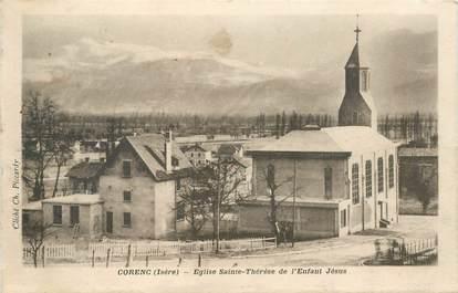 "CPA FRANCE 38 ""Corenc, Eglise Sainte Thérèse"""