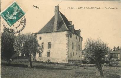 """CPA FRANCE 58 """"Lurcy le Bourg, le prieuré"""""""