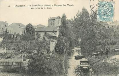 """CPA FRANCE 94 """"Alfortville, Ile Saint Pierre"""""""