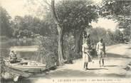 """42 Loire CPA FRANCE 42 """"Bords du Loiret, jeu de diabolo"""""""