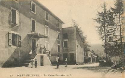 """CPA FRANCE 26 """"Foret de Lente, maison forestière"""""""