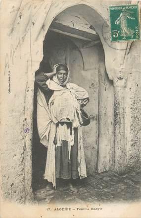 "CPA ALGERIE ""Femme Kabyle"""