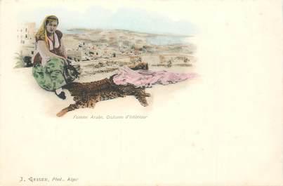 """CPA ALGERIE """"Femme arabe"""" / GEISER"""