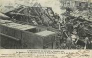 """77 Seine Et Marne / CPA FRANCE 77 """"Catastrophe de Melun"""""""