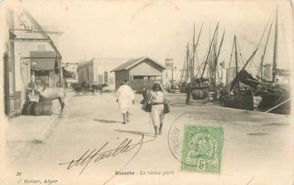 "CPA TUNISIE ""Bizerte, le vieux port"""