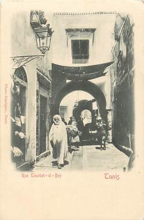 """CPA TUNISIE """"Tunis, rue Courbet el Bey"""""""