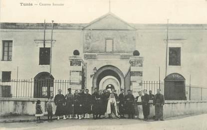 """CPA TUNISIE """"Tunis, Caserne Saussier"""""""