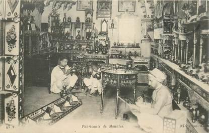 "CPA TUNISIE ""Fabricants de meubles"""
