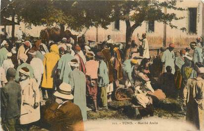 "CPA TUNISIE ""Tunis, le marché arabe"""