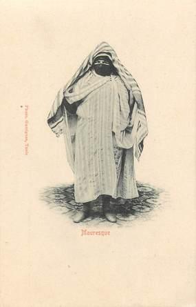 "CPA TUNISIE ""Mauresque"""