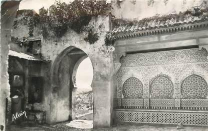 """CPSM MAROC """"Tanger, porte et fontaine de la Kasbah"""""""