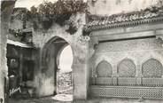 """Maroc CPSM MAROC """"Tanger, porte et fontaine de la Kasbah"""""""