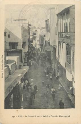 "CPA MAROC ""Fez, Rue du Mellah"""
